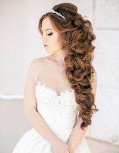 rapunzel wedding hair